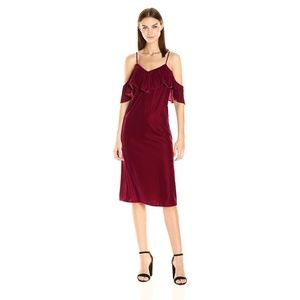 NWT Tracy Reese Velvet Dress - Medium